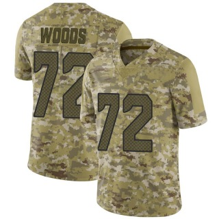 Al Woods Youth Seattle Seahawks Nike 2018 Salute to Service Jersey - Limited Camo