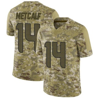 DK Metcalf Men's Seattle Seahawks 2018 Salute to Service Jersey - Limited Camo
